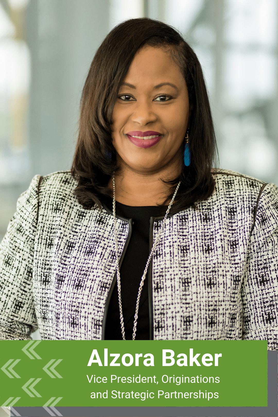 Alzora Baker, Vice President Originations VRM Mortgage Services