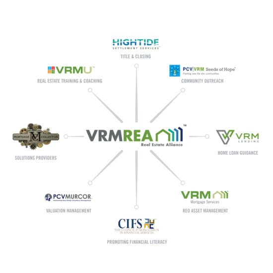 VRM Web Graphic 2 1 550x550 1| Murcor, Inc. Launches the VRM Real Estate Alliance | VRM Mortgage Services